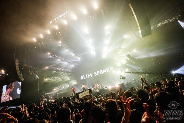 【ライブレポート】ハスキーボイスが持ち味のGLIM SPANKYがルナフェス に登場!松尾レミ「SUGIZO(LUNA SEA)さんといま一番仲良いかもね!」