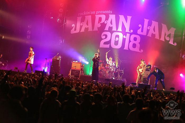 【ライブレポート】感覚ピエロ、夜のJAPAN JAM 2018を最高潮へと誘う!! アンコールで『拝啓、いつかの君へ』披露!