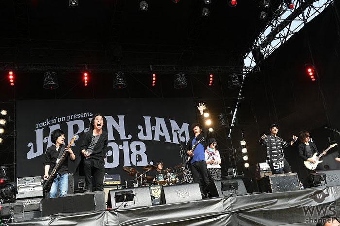 【ライブレポート】9mm Parabellum BulletがJAPAN JAM 2018に登場!アルカラ・稲村、オーラル・山中らと豪華コラボステージも展開!!