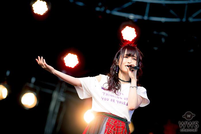 【写真特集】山本彩がメトロック大阪に登場!全8曲を披露で満員のオーディエンスを魅了!