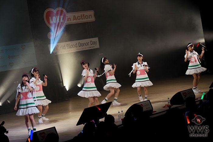 エビ中が『LOVE in Action Meeting(LIVE)』でニューシングル『でかどんでん』を披露!「献血とは、改めて考えるきっかけになった」