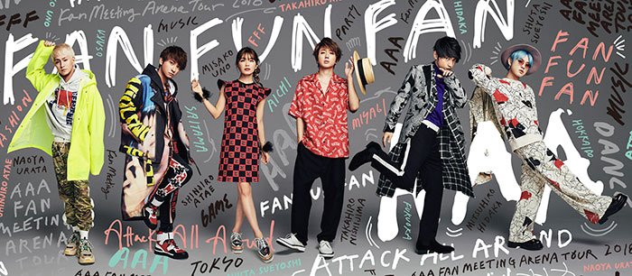 AAA、新曲「Tomorrow」が7月スタート火9ドラマ主題歌に決定!!