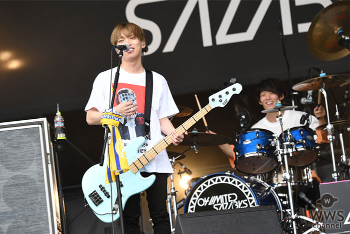【ライブレポート】04 Limited Sazabys、METROCK東京で『midnight cruising』を披露! GENの甘いハイトーンボイスで観客を魅了!