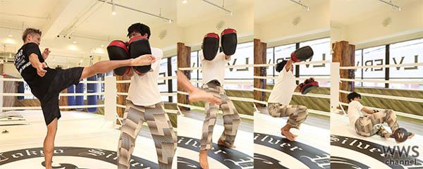 SOLIDEMOがキックボクシングでK-1選手に挑戦!!