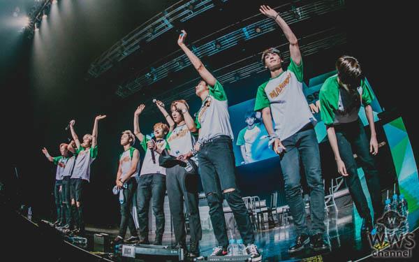 2018、最注目のK-POP9人組ダンスボーイズグループ SF9、新曲「マンマミーア!」など、初披露曲満載の初Zepp Tourを完走「FANTASY(ファン)がSF9の青春を輝かせてくれる」と、ファンソングをプレゼント
