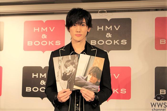 6月17日、渋谷のHMV&BOOKS SHIBUYAにて、22日に30歳を迎える植原卓也が7年ぶりとなるフォトブック発売イベントを行い、約600名のファンが集まった。
