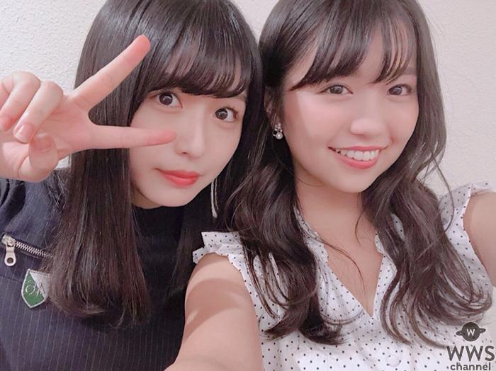 大原優乃と長濱ねるの❝双子風❞2ショットに「似てる」「双子みたい」の声、現役アイドルからも反響