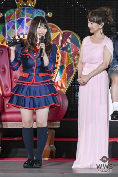 SKE48・松村香織「8年間支えてくれて本当にありがとう」第17位で「アンダーガールズ」でセンターを獲得!〈AKB48 53rdシングル 世界選抜総選挙〉