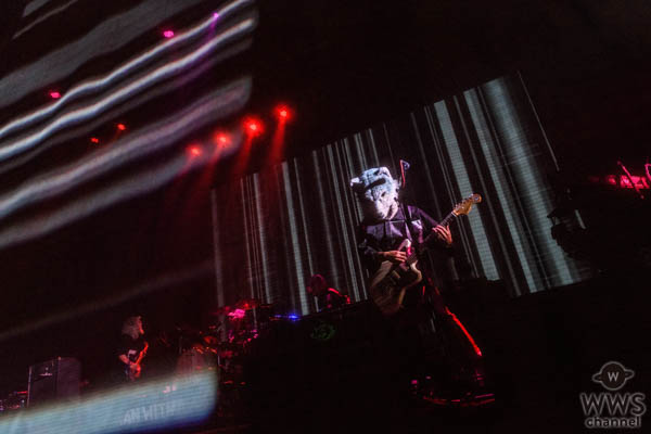 MAN WITH A MISSION、音と光のコラボレーション!全員が異次元へと誘われた圧巻のプラチナコンセプトライブ終了!!