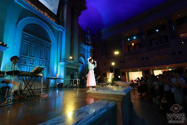 足立佳奈が新曲「チェンジっ!」初のリリースイベント開催!初めてのバンド形式で観客300人の応援に本人も感動の涙!