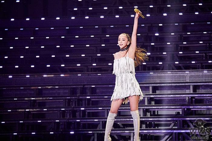 安室奈美恵、最多80万人を動員した最後の全国ツアー完走。このライブを完全収録した映像作品の発売も発表!
