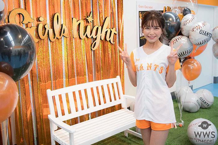 AAA宇野実彩子、初始球式でAAA魔球披露!?