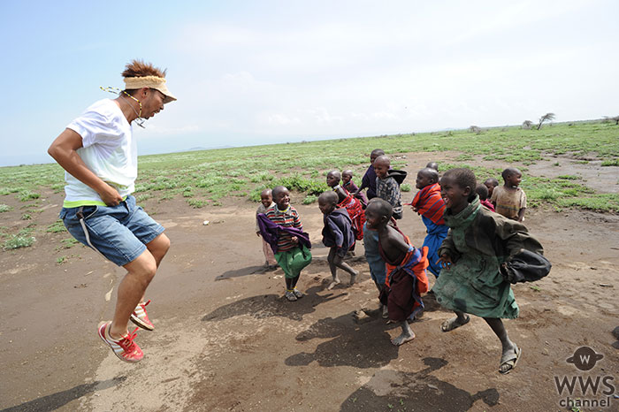 EXILE ÜSAが国連WFPサポーターに! 飢餓をなくす活動を応援!!
