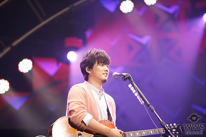 シンガーソングライター・秦基博が登場!<J-WAVE LIVE SUMMER JAM 2018 >