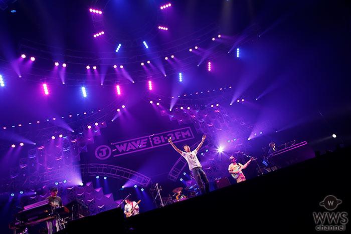 ロックバンド・Suchmosがトリで登場!<J-WAVE LIVE SUMMER JAM 2018 >