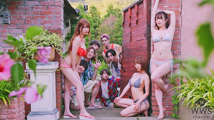 XOX、夏の名曲ORANGE RANGEの『上海ハニー』をカバー!MVでは豪華グラドルとメンバーが競艶!?