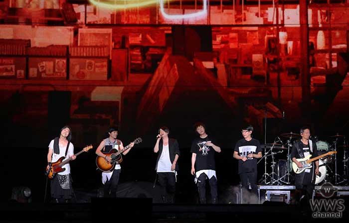 TERU(GLAY)が台湾のスーパーバンド「Mayday」のライブにスペシャルゲストとして登場!!