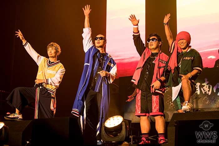 湘南乃風、15周年記念全国ツアー「風伝説 ~一五一会TOUR 2018~」が遂に開幕!横浜アリーナに集まったおよそ12,000人を激アツのライブで魅了!