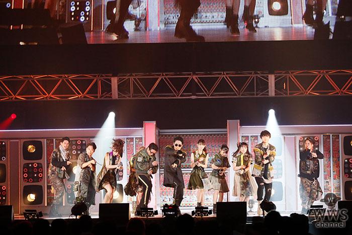 RADIO FISHとチームしゃちほこのコラボステージは4曲ノンストップ!!『BURNING FESTIVAL』を初パフォーマンス!