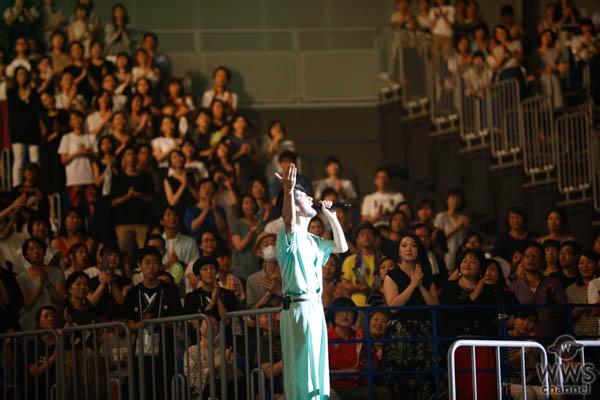 【ライブレポート】平井堅がアカペラで『キミはともだち』を熱唱!<J-WAVE LIVE SUMMER JAM 2018 >