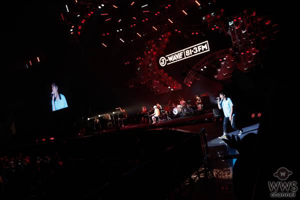 【ライブレポート】スキマスイッチが『全力少年』を満員の観客と共に熱唱!<J-WAVE LIVE SUMMER JAM 2018 >