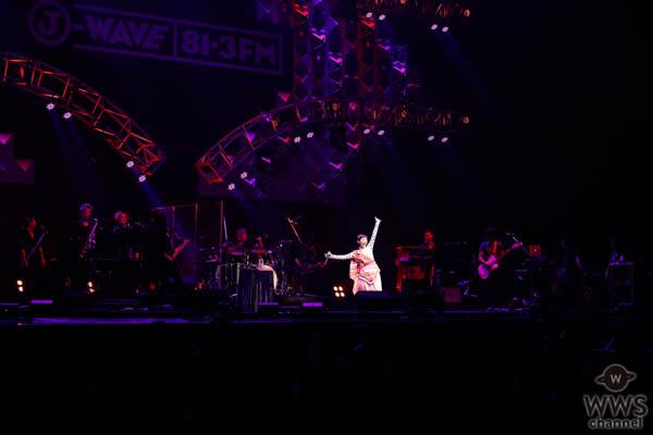 【ライブレポート】Superflyが6年ぶりJ-WAVE LIVE出演で全7曲披露! パワフルな歌声で11,000人の観客を魅了!<J-WAVE LIVE SUMMER JAM 2018 >