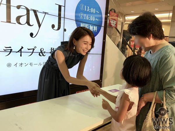May J.、鳥取のライブステージに登場。鳥取訪問により47都道府県を全てカバー!