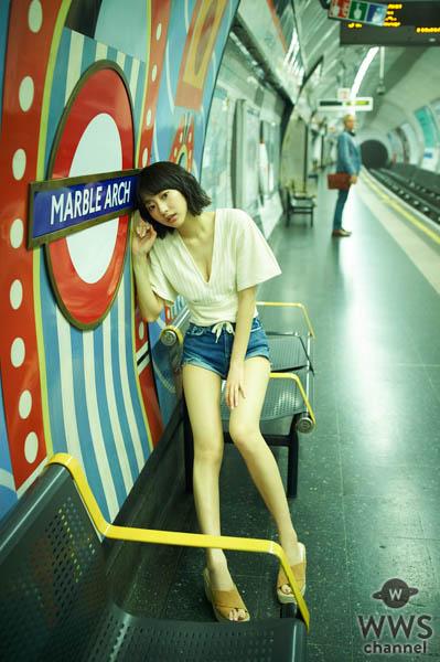 武田玲奈1stフォトブックのお気に入りカットは「カマキリ」!? オールイギリスロケの第2弾も発売決定!!