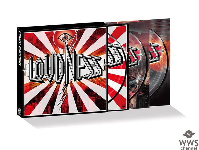 アナログ盤の重要が高まる中、LOUDNESSの80年代の黄金期を彩った名盤3作品がバンド初のピクチャー盤アナログで登場!