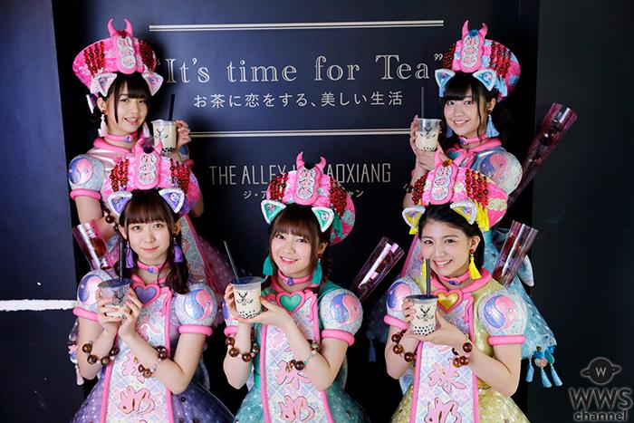 わーすた最新曲「タピオカミルクティー」 誕生にまつわる専門店「THE ALLEY」とコラボが決定!!
