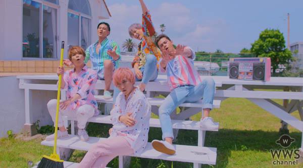 UNIONE(ユニオネ)の新曲「Summertime」MVはPopteen専属モデル5人と夏のコラボ!作詞にはメンバーのJINも参加!!