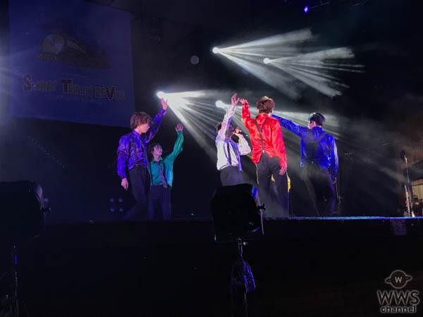 超特急、「SUNNY TRAIN REVUE〜テレビがフェス作っちゃいました〜」に出演し会場大爆笑の圧巻ライブを披露!!