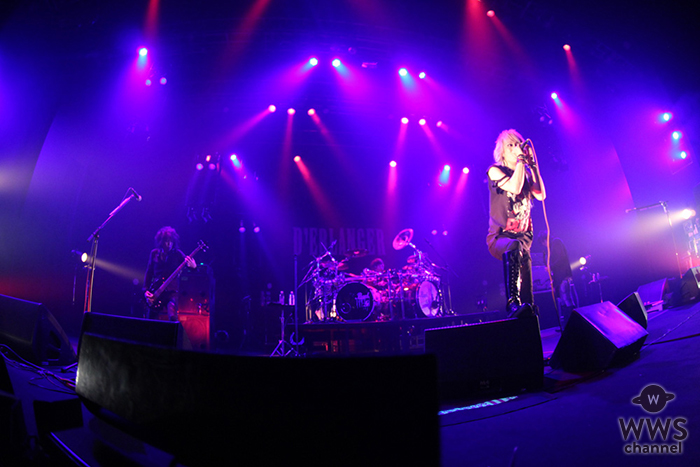 D'ERLANGER、ツアー「TOUR 2018 in the Beginning…」ファイナルで爆音に託した思い!