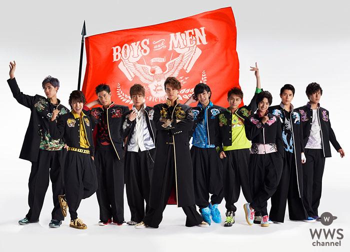 BOYS AND MEN、9月12日発売ニューシングル「炎・天下奪取」 NG無し!?天下奪取をかけて、体張りまくりミュージックビデオ解禁!