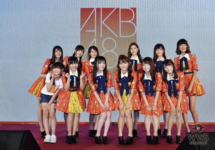 「AKB48 Team TP」第1期生がお披露目!35名で『恋するフォーチュンクッキー』を初披露!!