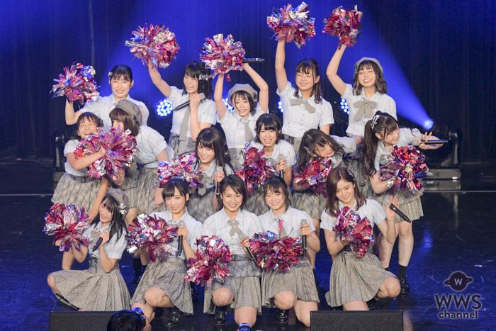AKB48 Team 8が「TIF2018」で爽快なライブパフォーマンスを披露!!