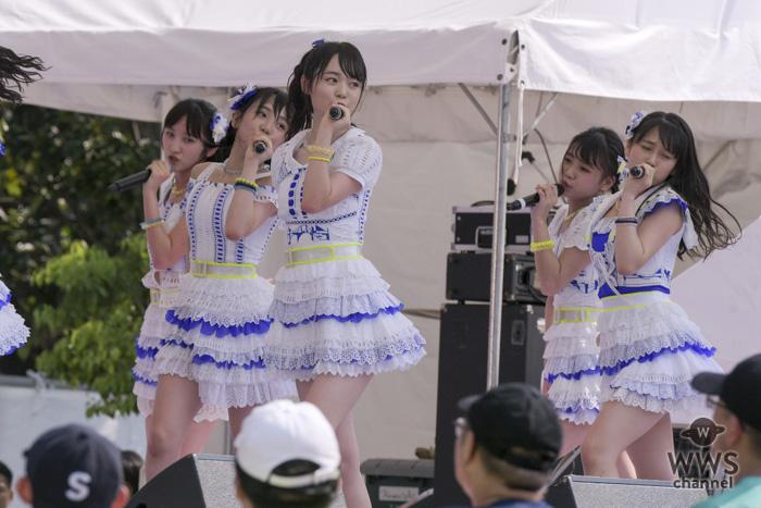 AKB48の次世代メンバーによる「フレッシュ選抜」が「TIF2018」に出演!野外ステージで『君のことが好きだから』を爽快に披露!!