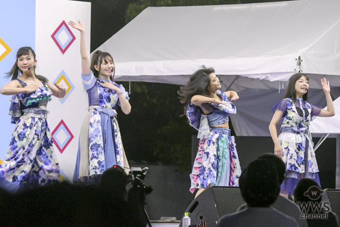 4人組ガールズユニット・9nineが「TIF2018」に出演!真夏の夜を『国道サマーラブ』で快走!!