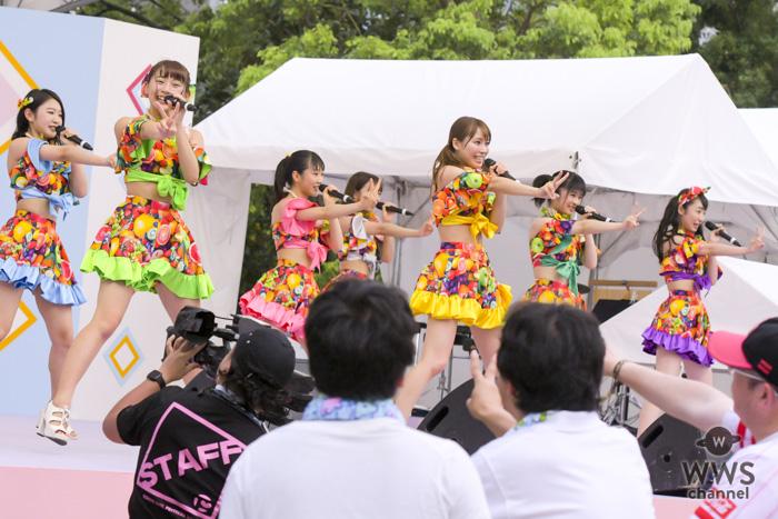 SUPER☆GiRLSが「チキパ」の意思を受け継ぐ『Peace Smile Girl』をサプライズ披露!