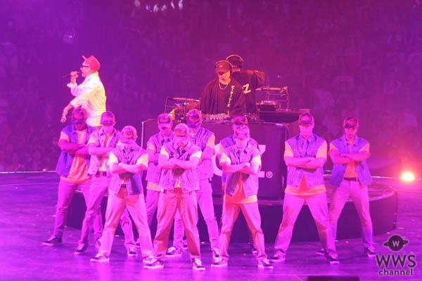 EXILE AKIRA、EXILE TETSUYAら参加の伝説的クランプチーム・®AG POUNDが圧巻のパフォーマンス!<DANCE ALIVE WORLD CUP 2018>
