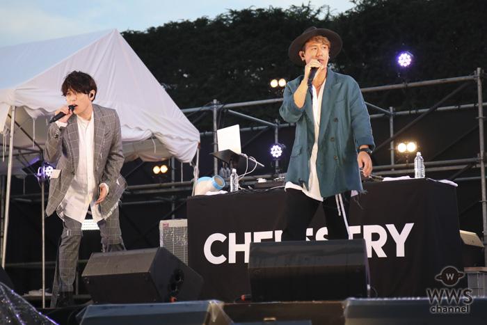 男性ツインボーカルユニット・CHEMISTRYが神宮軟式球場メインステージに出演!〈2018神宮外苑花火大会〉