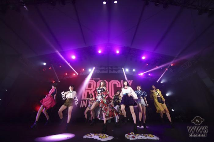 【ライブレポート】アンジュルムがキレのあるダンスと高い歌唱力を披露!「ROCK IN JAPAN FESTIVAL 2018」で人気曲『大器晩成』含む9曲!