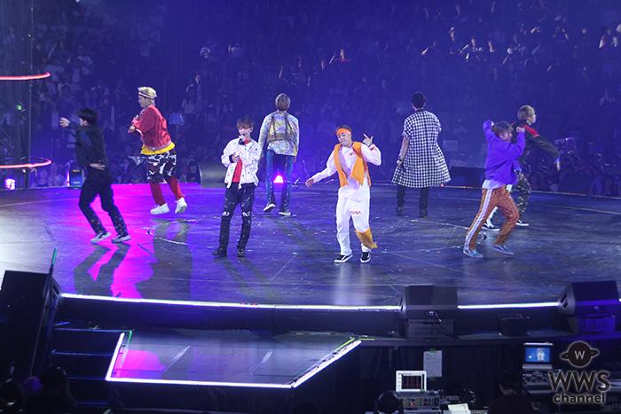 LDH所属ダンス&ボーカルグループ・FANTASTICSが激しいダンスパフォーマンス!<DANCE ALIVE WORLD CUP 2018>