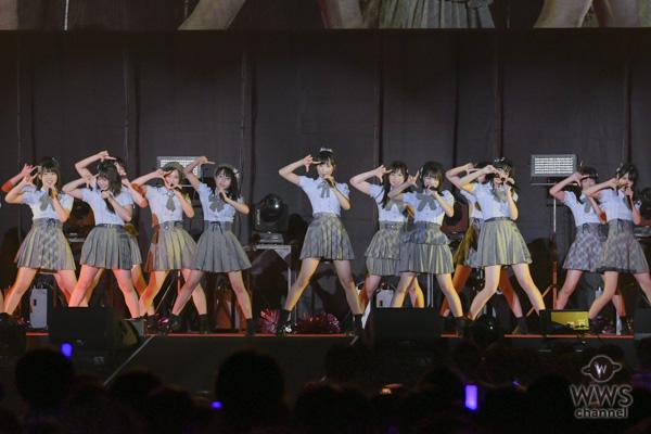 【ライブレポート】AKB48 Team8が「@JAM EXPO 2018」に出演!48グループのトップバッターで『蜂の巣ダンス』『思春期のアドレナリン』を爽快パフォーマンス!!