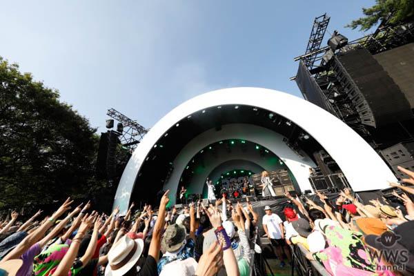 【ライブレポート】筋肉少女帯が「ROCK IN JAPAN FESTIVAL 2018」に5年ぶりの参戦! デビュー30周年を迎え、懐かしの『元祖高木ブー伝説』から最新曲まで健在ぶりをアピール!