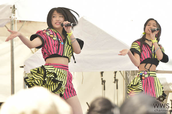 【写真特集】ハロプロ所属の5人組女性アイドル・こぶしファクトリーがTIF2018に出演!
