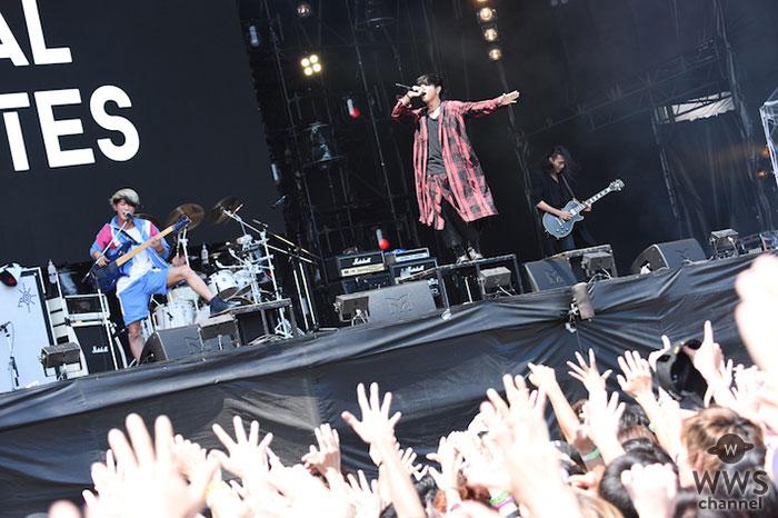 【ライブレポート】THE ORAL CIGARETTESがROCK IN JAPAN FESTIVAL 2018初日に君臨! ヒット曲『ONE'S AGAIN』『カンタンナコト』含む全9曲披露!山中が熱い思い語る!「5年前からGRASS STAGEに立つと思ってた」