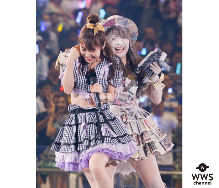 SKE48・松村香織、まさかの落とし穴に粉まみれ!?「AKB48グループ感謝祭〜ランクインコンサート〜」1日目開催!!