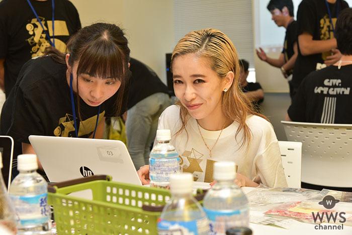 加藤ミリヤが渋谷区でボランティア活動に参加!9/1「RockCorps supported by JT」に出演!