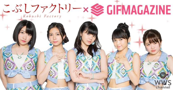 GIFMAGAZINEが「こぶしファクトリー」のGIF公式チャンネルを公開!